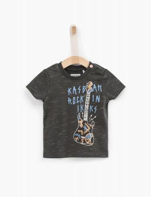 IKKS IKKS T-shirt Boys 'Kasbah Rock'in' Gris Ardoise