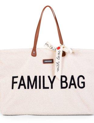 Childhome Childhome Family Bag Verzorgingstas - Teddy Ecru