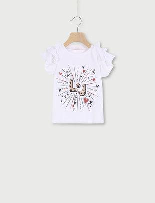 Liu Jo Liu Jo T-shirt Girls Hartjes