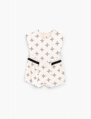IKKS IKKS Playsuit Girls 'Kasbha Rock'in' Ecru