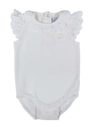 Natini Natini Body/T-shirt Girls Marie White Broderie