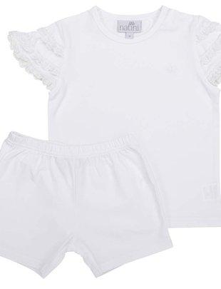 Natini Natini Pyjama Girls Virginia White