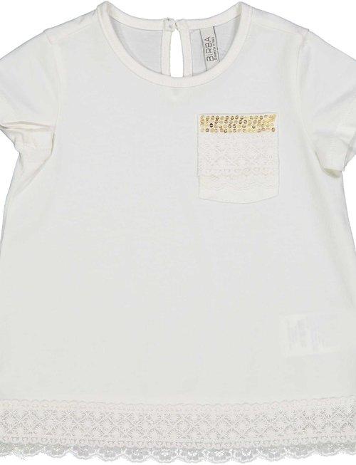 Birba Birba T-shirt Girls Gold