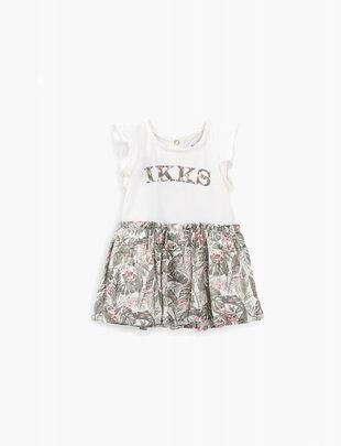 IKKS IKKS Jurk Girls Army Of Flowers