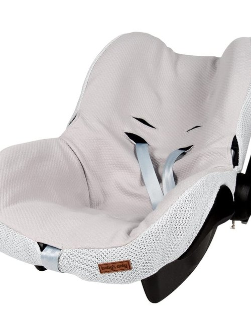 Baby's Only Baby's Only Autostoelhoes 0- Classic Silvergrey