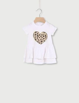 Liu Jo Liu Jo Jurk Girls Leopard Heart