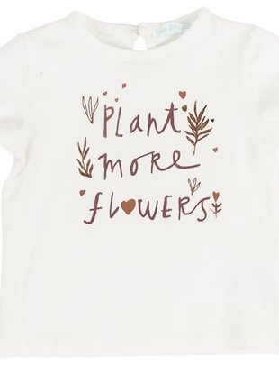 Bla Bla Bla Bla Bla Bla T-shirt Girls 'Plant More Flowers'