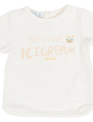 Bla Bla Bla Bla Bla Bla T-shirt Girls 'But First Icecream'