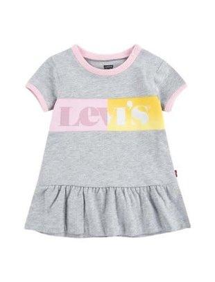 Levi's Levi's Jurk Girls Light Gray Heather