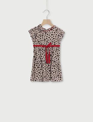 Liu Jo Liu Jo Jurk Girls Leopard/Red