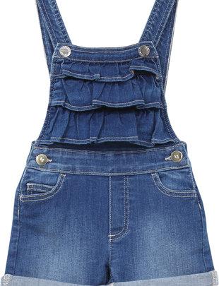 Liu Jo Salopette Girls Denim Blu Fair Vintage