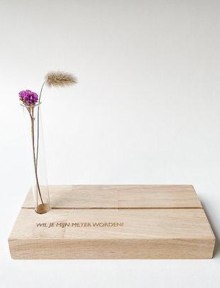 Minimou Minimou Shelf 'Wil je mijn Meter Worden?'