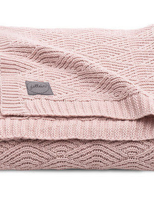 Jollein Jollein Deken River Knit 75x100 cm Pale Pink
