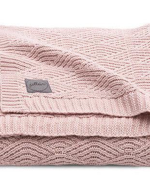 Jollein Jollein Deken River Knit 75x100 Pale Pink