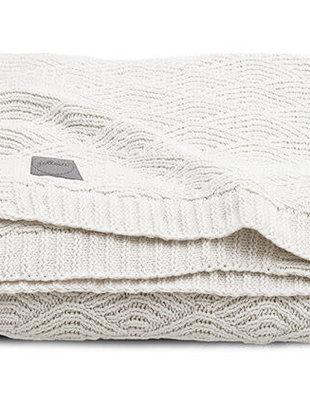 Jollein Jollein Deken River Knit 75x100 cm Cream White