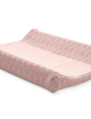 Jollein Jollein Aankleedkussenhoes River Knit Pale Pink