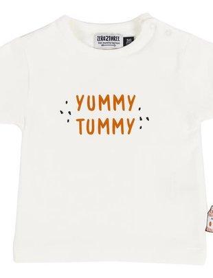 Zero2Three Zero2Three T-shirt Boys Yummy Tummy