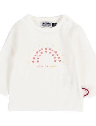 Zero2Three Zero2Three T-shirt Girls 'Born To Shine'