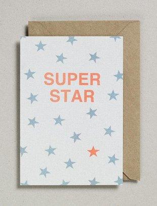 Petra Boase Petra Boase Wenskaart 'Super Star'