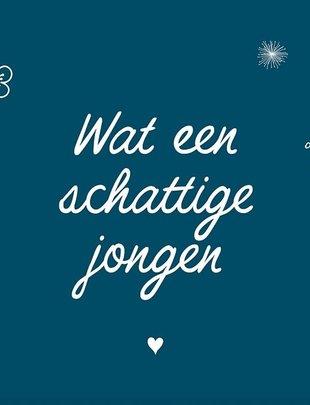 Minimou Minimou Wenskaart 'Wat Een Schattige Jongen'