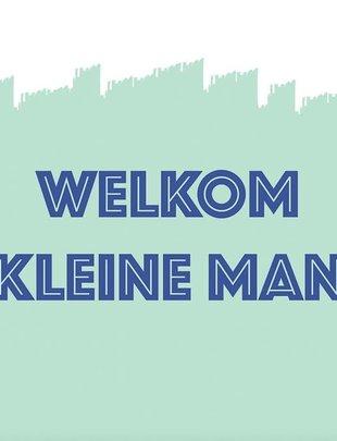 Minimou Minimou Wenskaart 'Welkom Kleine Man'