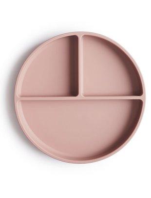Mushie Mushie Silicone Suction Plate Blush