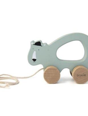 Trixie Trixie Houten Trekspeeltje Mr. Polar Bear