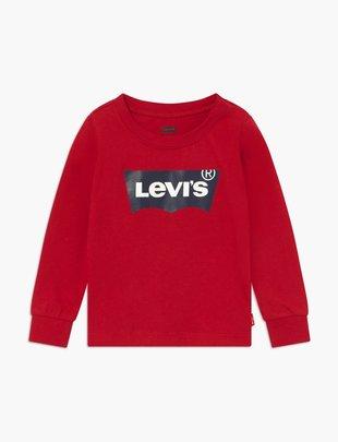 Levi's Levi's T-shirt Boys Longsleeve Levis Red