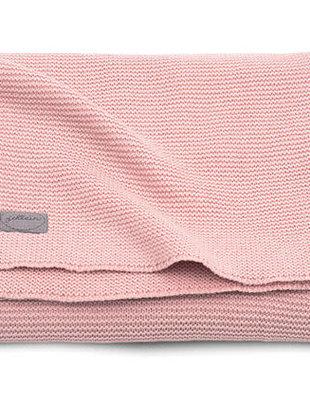 Jollein Jollein Deken Basic Knit 75x100  Blush Pink