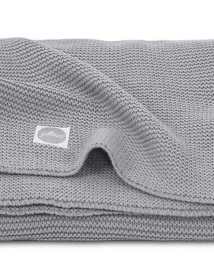 Jollein Jollein Deken Basic Knit 75x100 Stone Grey