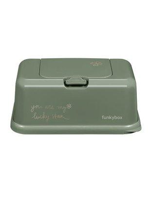 Funky Box Funky Box Vochtige Doekjesdoos Olive Green