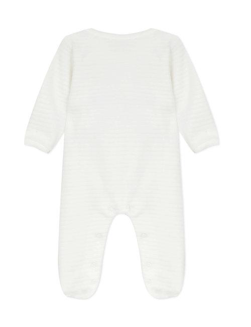 Absorba Absorba Pyjama Velours Ecru