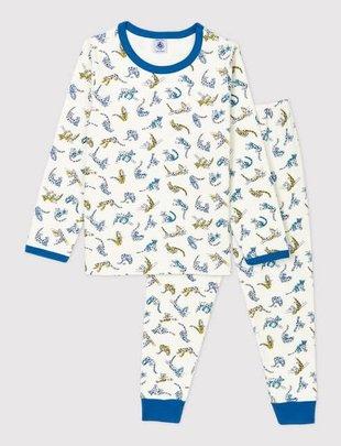 Petit Bateau Petit Bateau Pyjama Boys 2-delig Met Panterprint