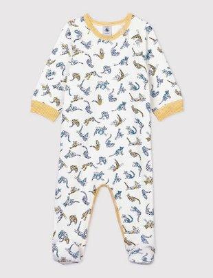 Petit Bateau Petit Bateau Pyjama Boys Met Panterprint