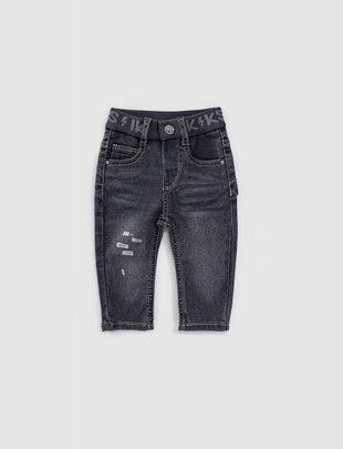 IKKS IKKS Broek Boys 'Vicking Rocker' Black Used