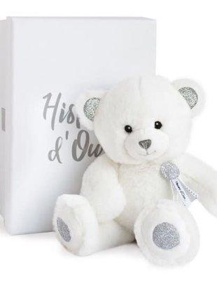 Histoire d'Ours Histoire d'Ours Teddybeer met Zilveren Pootjes