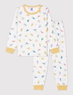 Petit Bateau Petit Bateau Pyjama Dierenprint