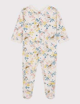Petit Bateau Petit Bateau Pyjama met bloemenprint