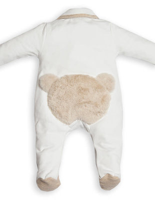 First First Combi Teddy Bear Backside White/Beige