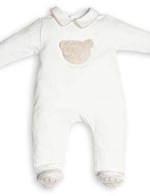 First First Combi Teddy Bear Fur White/Beige