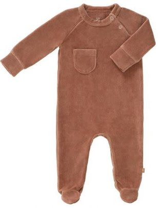 Fresk Fresk Pyjama Velours Tawny Brown