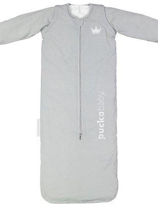 Puckababy Puckababy Winterslaapzak Grey Stripes 100 cm
