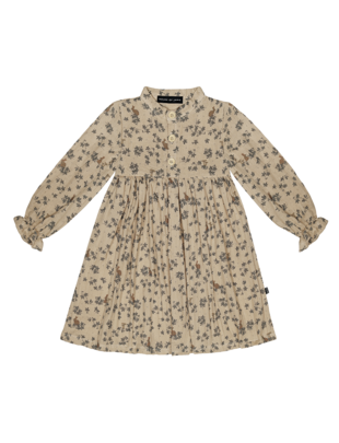 House of Jamie House of Jamie High Waste Dress Oatmeal Forest