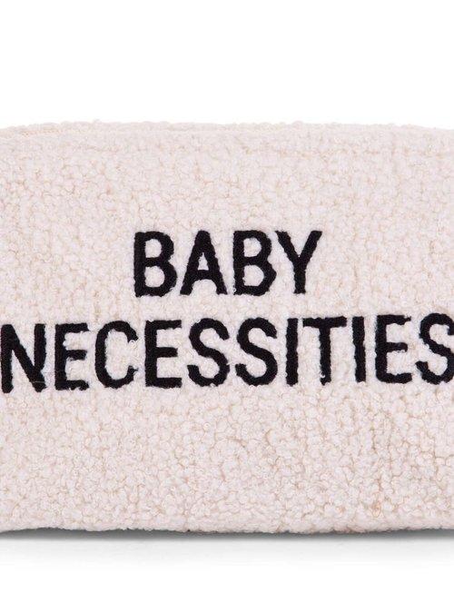 Childhome Childhome Baby Necessities Toilettas - Teddy Off White