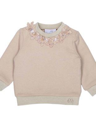 Natini Natini Sweater Girls Fanny Flower Beige
