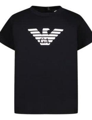 Emporio Armani Emporio Armani T-shirt Boys Navy Aquila
