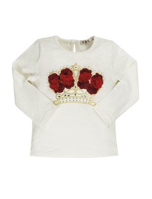 EMC EMC T-shirt Girls Red Flowers