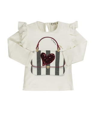 EMC EMC T-shirt Girls ' Love Shopping'