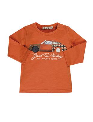 EMC EMC T-shirt Boys Cars Orange