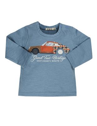 EMC EMC T-shirt Boys Cars Blue